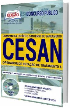 Apostila Concurso CESAN 2018 Operador de Estação de Tratamento A