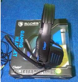 Review Headset Gaming Sades Chopper SA711