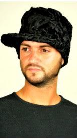 Karakul fur hat