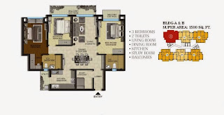 Regency_park_3Bhk_floor_plan