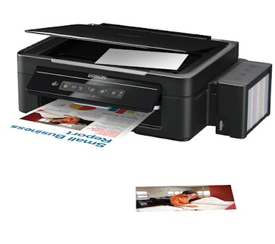 Epson L355 imprime con rayas horizontales