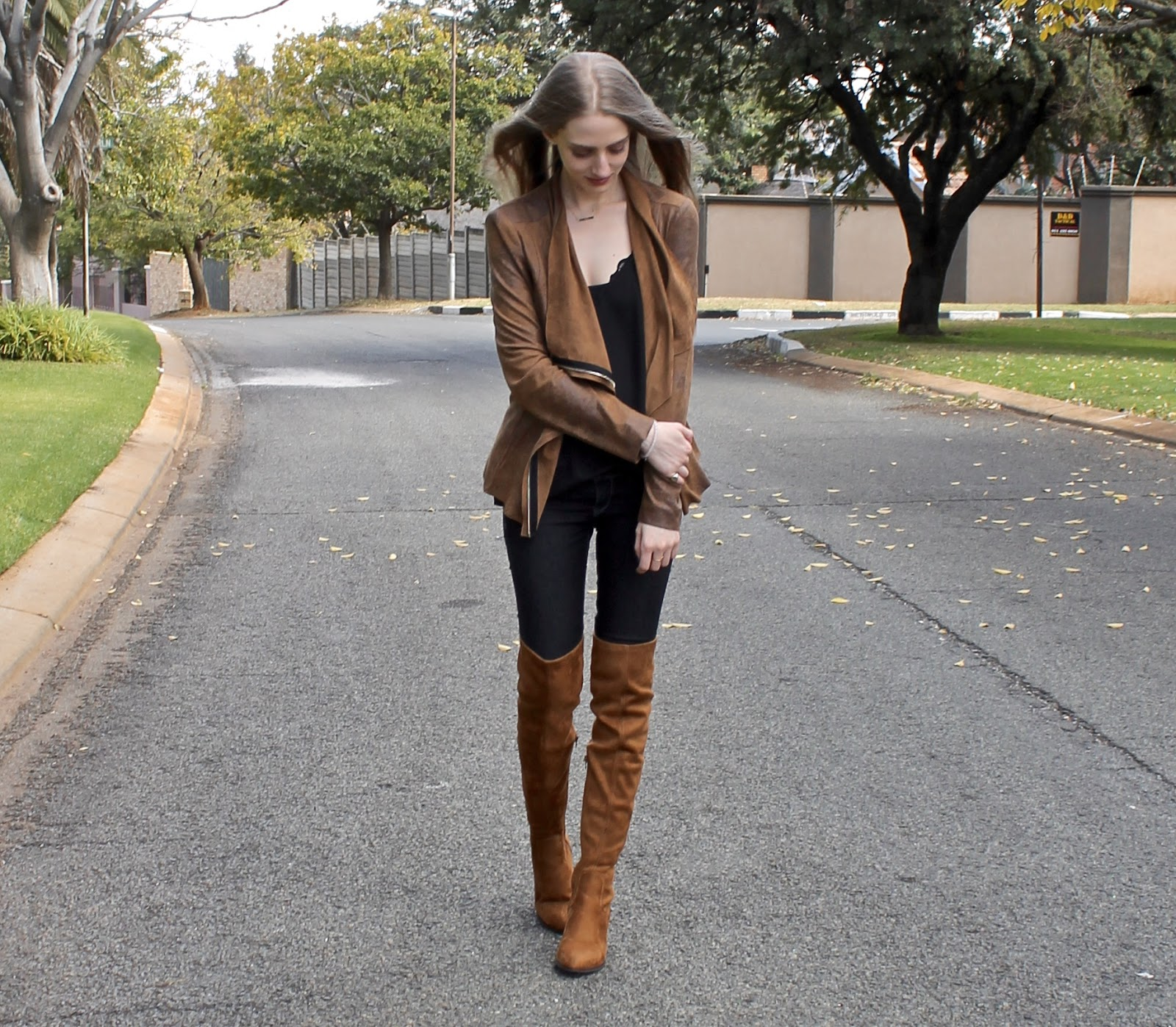brown leather jacket and boots jackets review