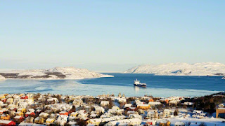 Panoramic view of Kirkenes