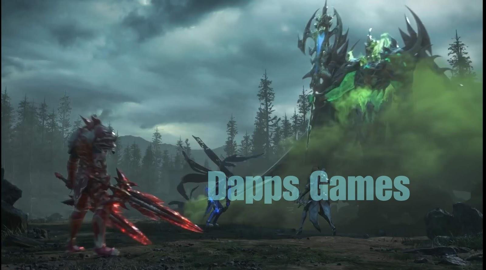Dapps eos masih unggul dalam kategori game, perkembangan dapps, dappradar ranking,
