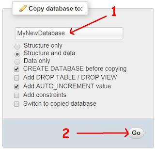 clone mysql database