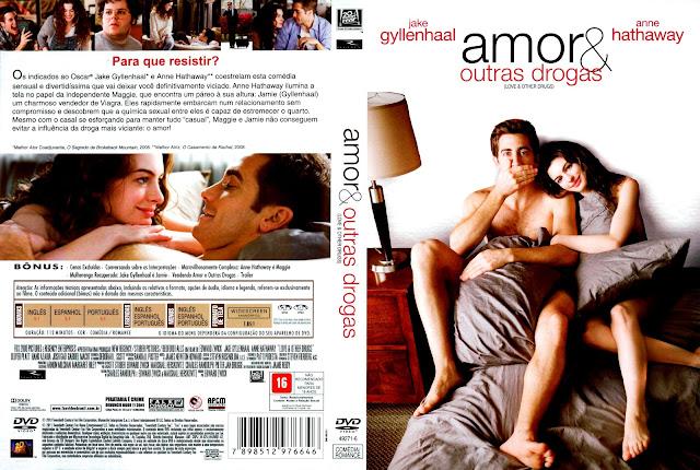 Capa DVD Amor e Outras Drogas