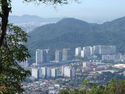 View to Paya Terubong