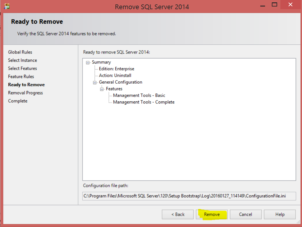 Welcome To TechBrothersIT: How to Uninstall SQL Server