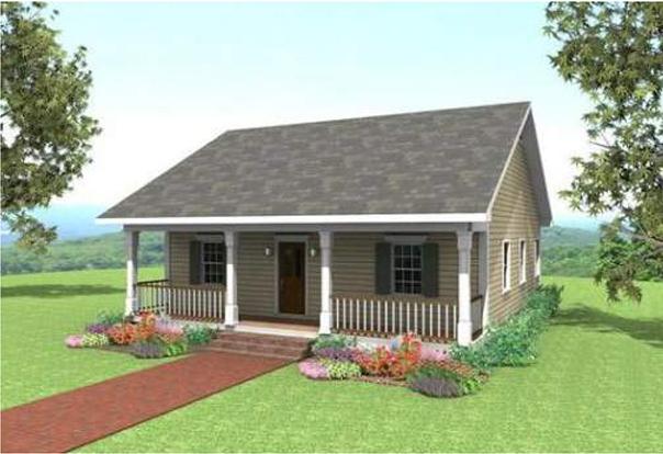 Desain Rumah Sederhana Pedesaan