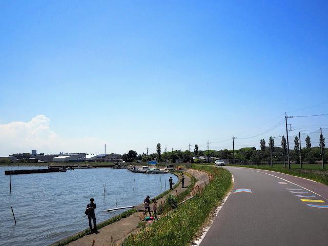 霞ヶ浦 つくば霞ヶ浦りんりんロード 和田岬
