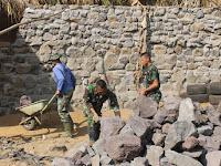 Tingkatkan Keamanan Latihan, Brigif Raider 9 Kostrad Renovasi Lapangan Tembak