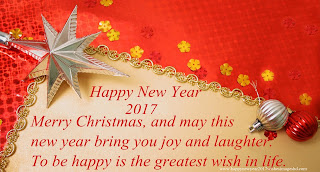 Happy New Year And Merry Xmas 2017