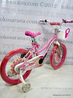 4 Sepeda Anak United Pretty Girl Aluminium Alloy Frame 18 Inci