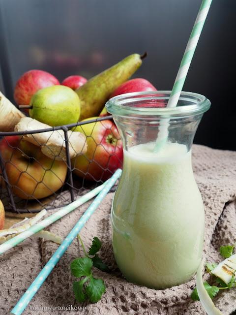 sok z gruszek i jabłek