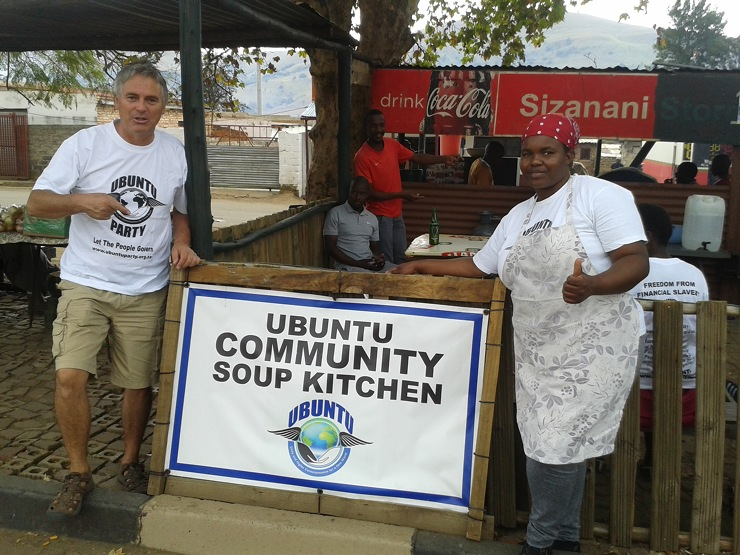 Ubuntu First Soup Kitchen Launched By Ubuntu In Waterval Boven