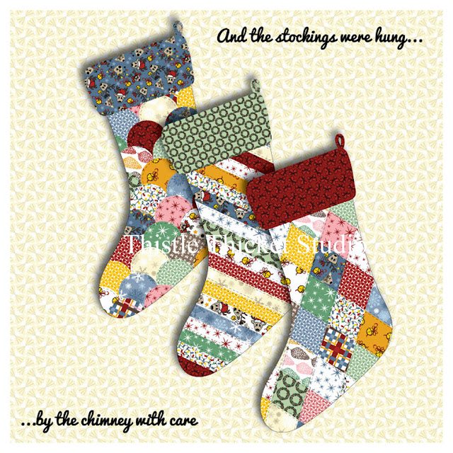 Oh Deer, It's Christmas! Stocking Mockup Designed By Thistle Thicket Studio. www.thistlethicketstudio.com