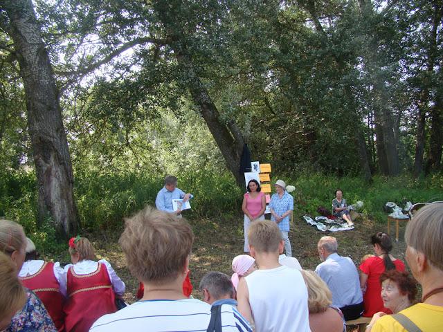 Встреча под сосной, которая помнит Пришвина Зимняк Сергиев Посад