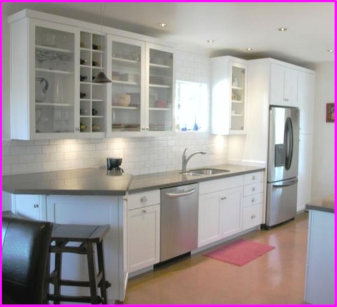 Inspiring Ideas For Kitchen Cabinet Glass Design Part 87