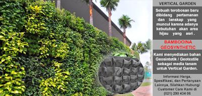 Jual Geotextile Untuk Vertical Garden