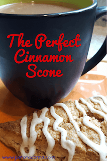 The Perfect Cinnamon Scone
