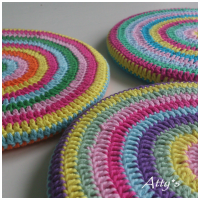 Crochet Pot Coaster DIY