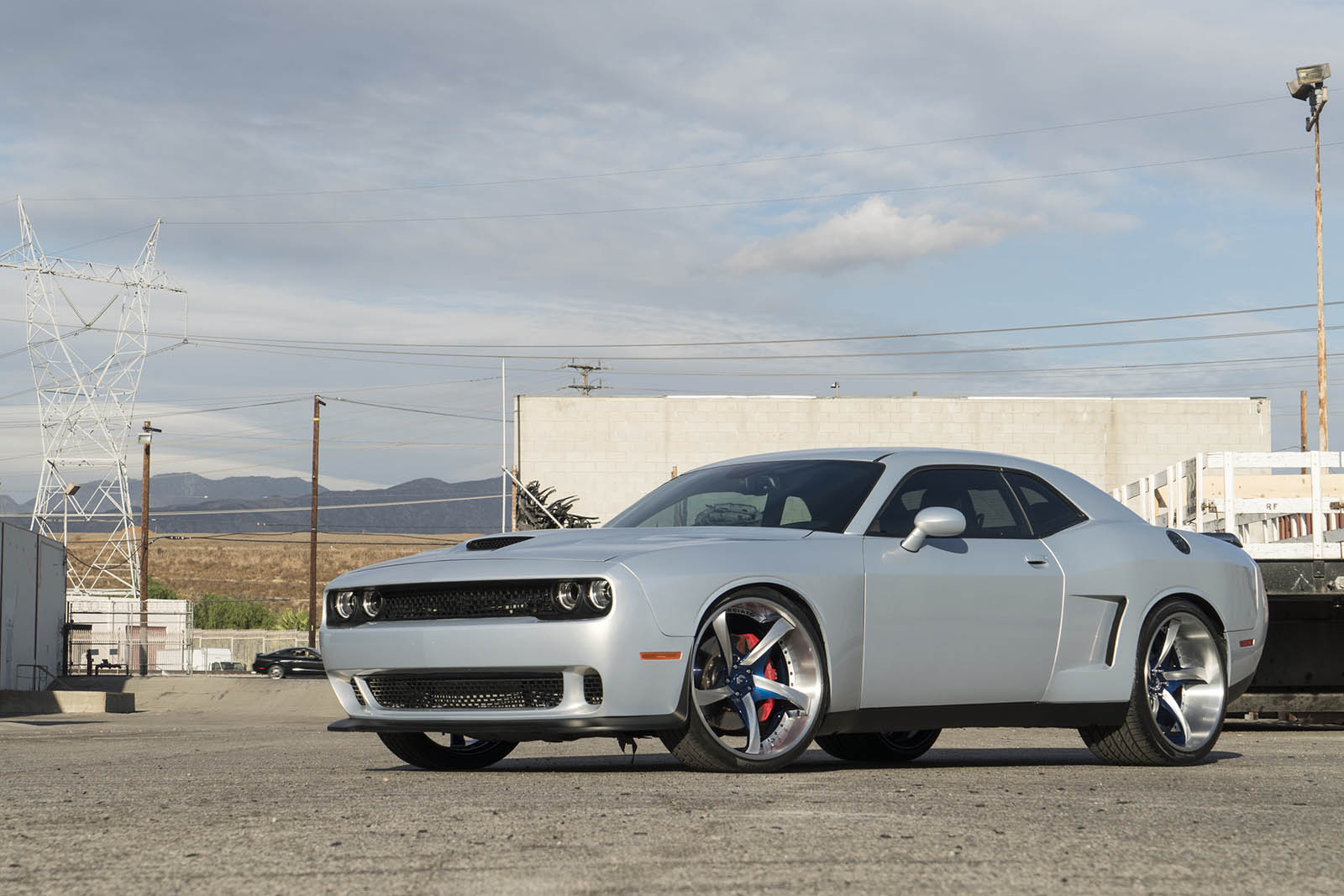 Pirelli P Zero >> Widebody Kit And Huge Alloys Make The Challenger SRT Look Even More Macho | Carscoops