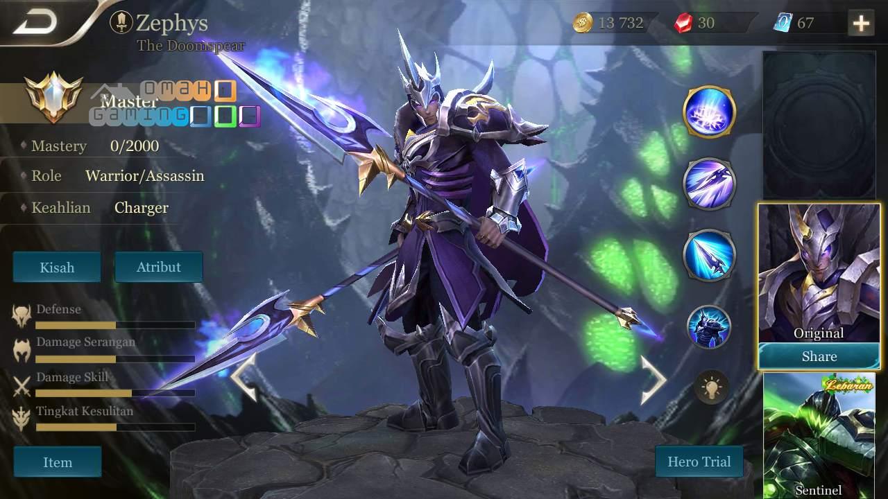 Penjelasan 8 Keahlian yang Dimiliki Hero di Arena of Valor