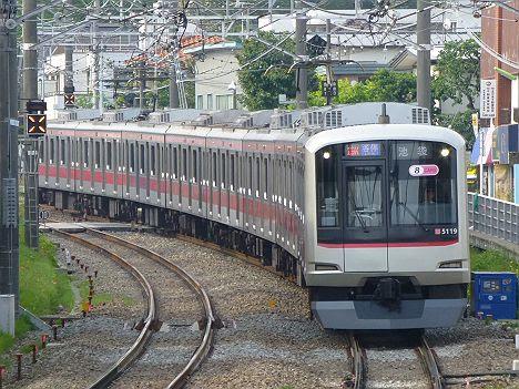 東急東横線 各停 池袋行き1 5050系