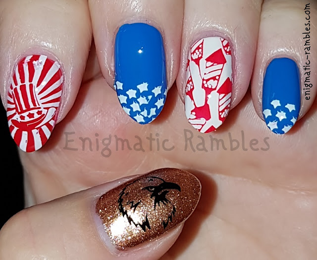 Nails-Independence-Day