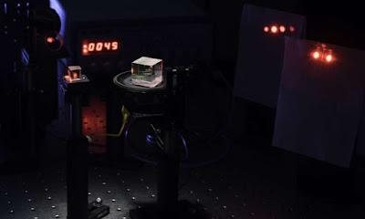 Senzill interferòmetre que pot detectar els polsos de llum més ràpids