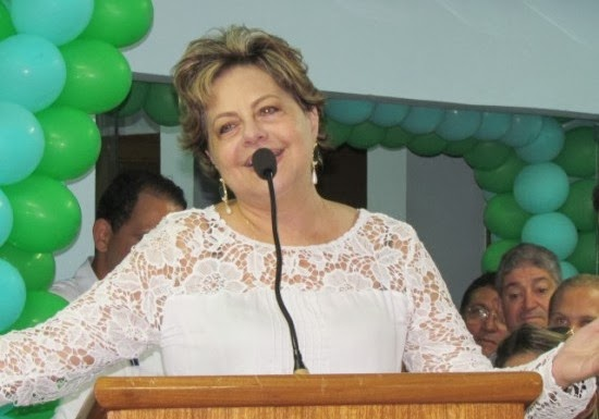 Resultado de imagem para Fafá Rosado (PMDB).