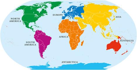 Geografia 8ºano Continentes E Oceanos 2º Bimestre