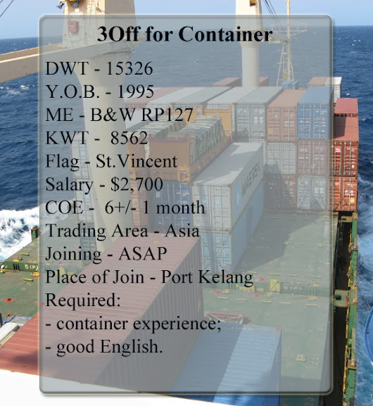 3Off for Container