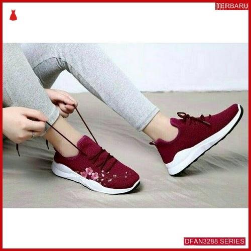 DFAN3288S36 Sepatu Jj30 Sepatu Bordir Wanita Sneakers Murah BMGShop