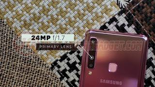 Kamera utama Samsung Galaxy A9 2018