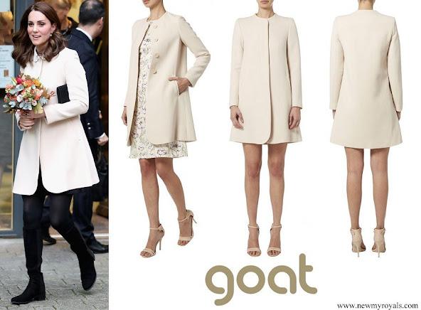 Kate Middleton wore Goat Redgrave Coat