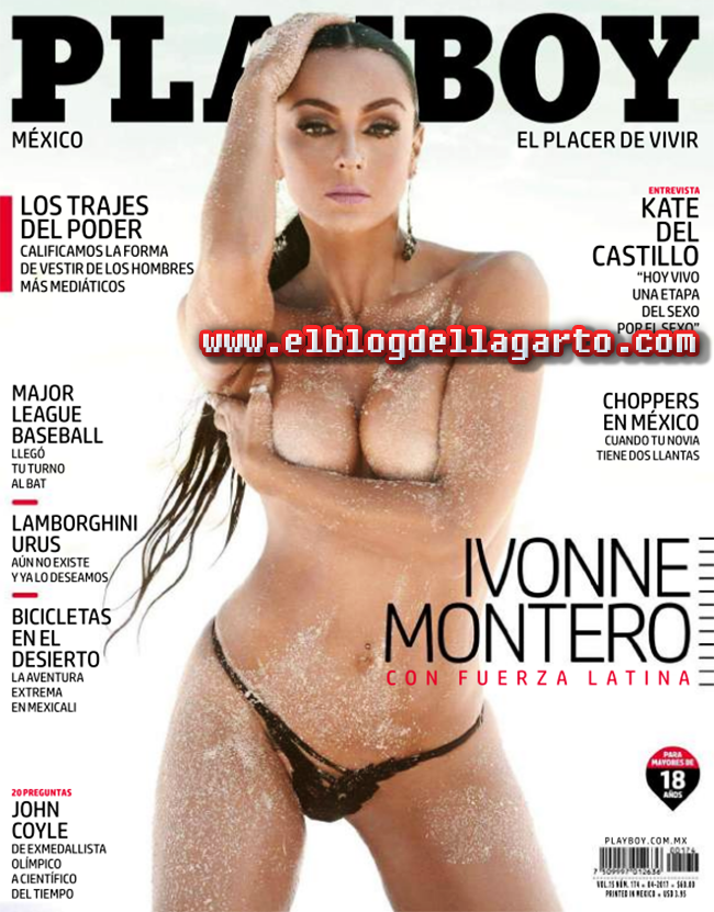 Playboy Mexico Abril 2017 Ivonne Montero