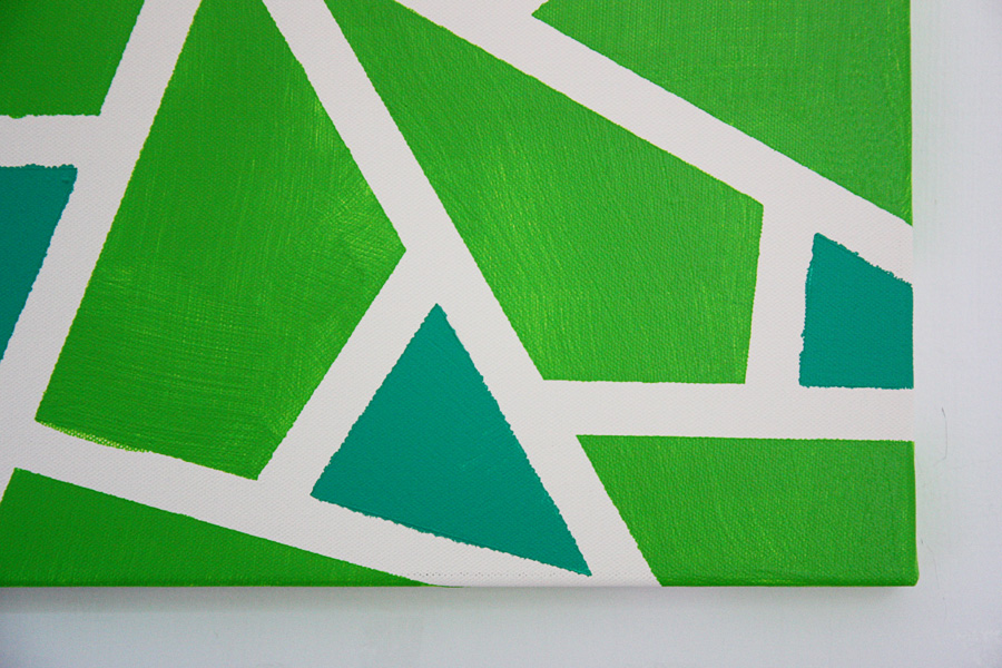 easy canvas wall art project - Art Home DIY