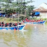 Tradisi Lebaran Lomban Balap Perahu