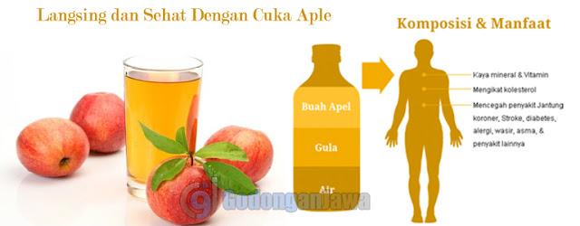 Langsing Dan Sehat Dengan Cuka Apel