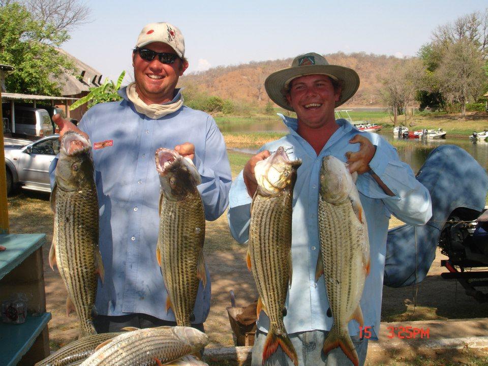 Fish Scope- Zambezi Tiger Tournament - Day1 Olive Beadle ...