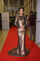 Actress Catherine Tresa in Golden Skin Tight Backless Gown at Gautam Nanda music launchi ~ Exclusive Celebrities Galleries 108.JPG