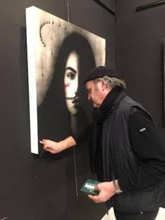 """""""Sguardi"""", la mostra del Maestro Omar Galliani prorogata al 31 gennaio 2019"""