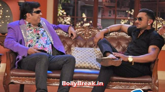 Honey Singh on Comedy Nights With Kapil, Honey Singh on Comedy Nights With Kapil
