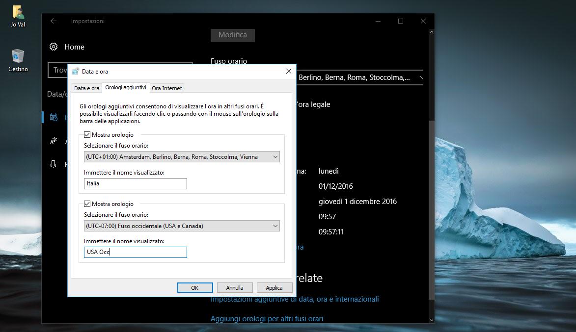 Come impostare più orologi con diversi fusi orari in Windows 10 3 HTNovo