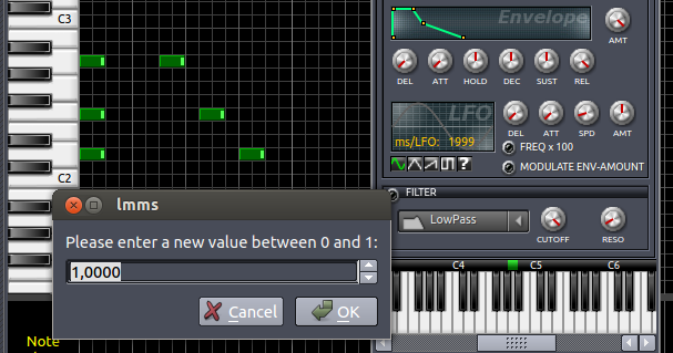 Nickleus Music Technology Blog: LMMS - how to create a