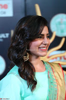 Samantha Ruth Prabhu Smiling Beauty in strange Designer Saree at IIFA Utsavam Awards 2017  Day 2  Exclusive 24.JPG