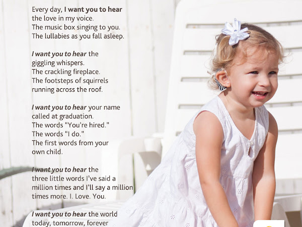 Developmental Milestones and Why #IWantYouToHear