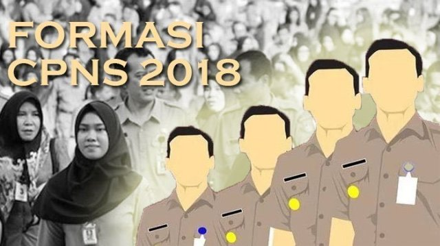 Lokasi Test CPNS 2018, Lampung Barat  Masuk Zona I