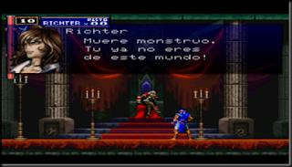 castlevania psx traducido al castellano